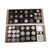 BANDEJAS MONEDAS - Bandejas medianas - Ubi-k guardar colección chapas de cava, monedas numismática