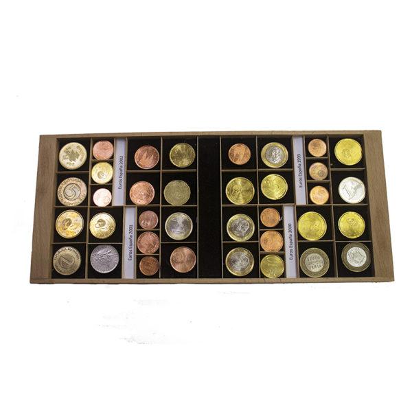 BANDEJA MONEDAS Bandeja mediana para coleccionismo y numismática - Ubi-k almacenar, guardar y ciudar monedas - numismática