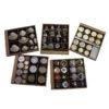BANDEJA MONEDAS PINS CONCHAS CHAPAS- almacenar colecciones - suplementos coleccionismo - guardar y cuidar monedas- numismática