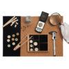 Superficie de trabajo para coleccionismo Ubi-k para diseñar tu bandeja y colección - monedas / numismática / euros