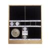 Etiquetas adhesivas para nombrar y catalogar tu colección - monedas euros