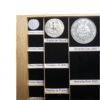 Etiquetas adhesivas para nombrar y catalogar tu colección - monedas, euros