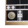 Etiquetas adhesivas para nombrar y catalogar tu colección monedas, euros