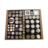 BANDEJAS MONEDAS Bandeja grande para coleccionismo y numismática Ubi-k guardar, almacenar y cuidar Colección monedas, diferentes tamaños numismática