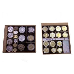 Bandejas pequeñas Ubi-k - suplementos, productos y accesorios para coleccionistas - guardar monedas