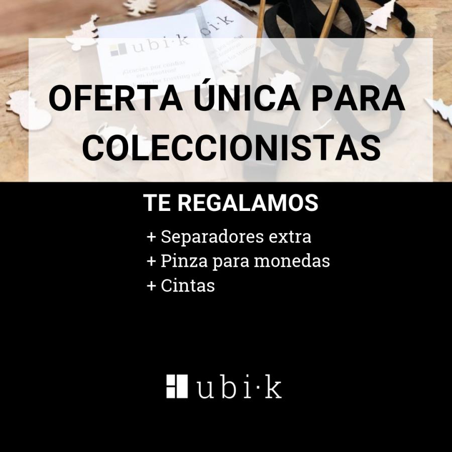 NAVIDAD: REGALO UBI·K ESPECIAL COLECCIONISTAS | Bandejas para coleccionismo
